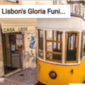 Lisbon's Gloria Funicular Jigsaw Puzzle Game