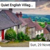Quiet English Village Jigsaw