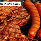 8B Grilled Meats Jigsaw