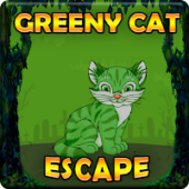 G2J Greeny Cat Escape