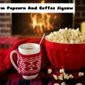Warm Popcorn And Coffee