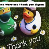 8B Corona Warriors Thank you Jigsaw