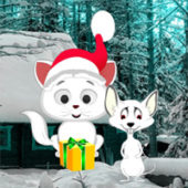 G2R Christmas Cat and Mouse Fiction Escape