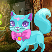 G4K Fantasy Blue Cat Escape