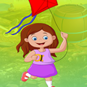 G4K Flying Kite Girl Escape