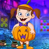 G4K Unattractive Pumpkin Girl Escape
