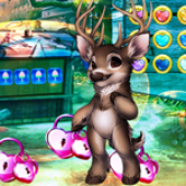 G4K Gleeful Reindeer Escape