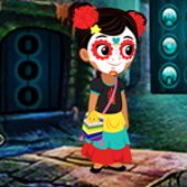 G4K Lovable Halloween Girl Escape