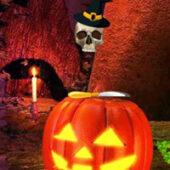 G2R Golden Halloween Pumpkin Escape