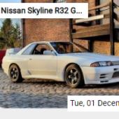Nissan Skyline R32 GT-R Jigsaw