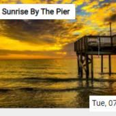 Sunrise By The Pier Jigsaw