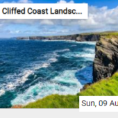 Cliffed Coast Landscape Jigsaw