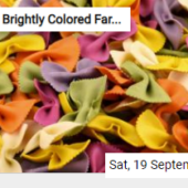 Brightly Colored Farfalle Jigsaw
