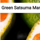 Green Satsuma Mandarines Jigsaw Puzzle Game