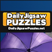 Colorful Floating Umbrellas Jigsaw Puzzle Game
