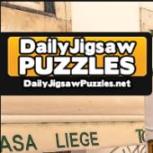 Lisbon's Gloria Funicular Jigsaw Puzzle Game