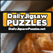 Freshly Backed Croissants And Bread Rolls Jigsaw Puzzle Game