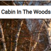 Cabin In The Woods Winter Landscape Jigsaw Puzzle Game