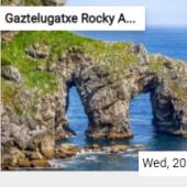 Gaztelugatxe Rocky Arches Jigsaw