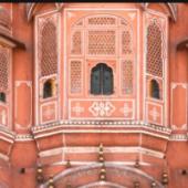 Front Facade Of Hawa Mahal