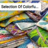 Selection Of Colorful Fabrics Jigsaw Puzzle Game