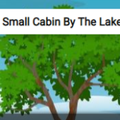 Small Cabin By The Lake Jigsaw Puzzle Game