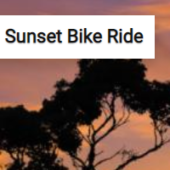 Sunset Bike Ride Jigsaw Puzzle Game