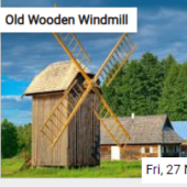 Old Wooden Windmill Jigsaw