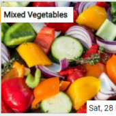 Mixed Vegetables Jigsaw
