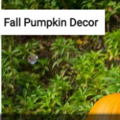 Fall Pumpkin Decor Jigsaw Puzzle Game