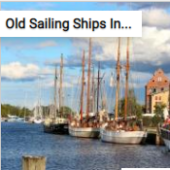 Old Sailing Ships In Harbor Jigsaw Puzzle Game