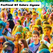 8B The Festival Of Colors Jigsaw